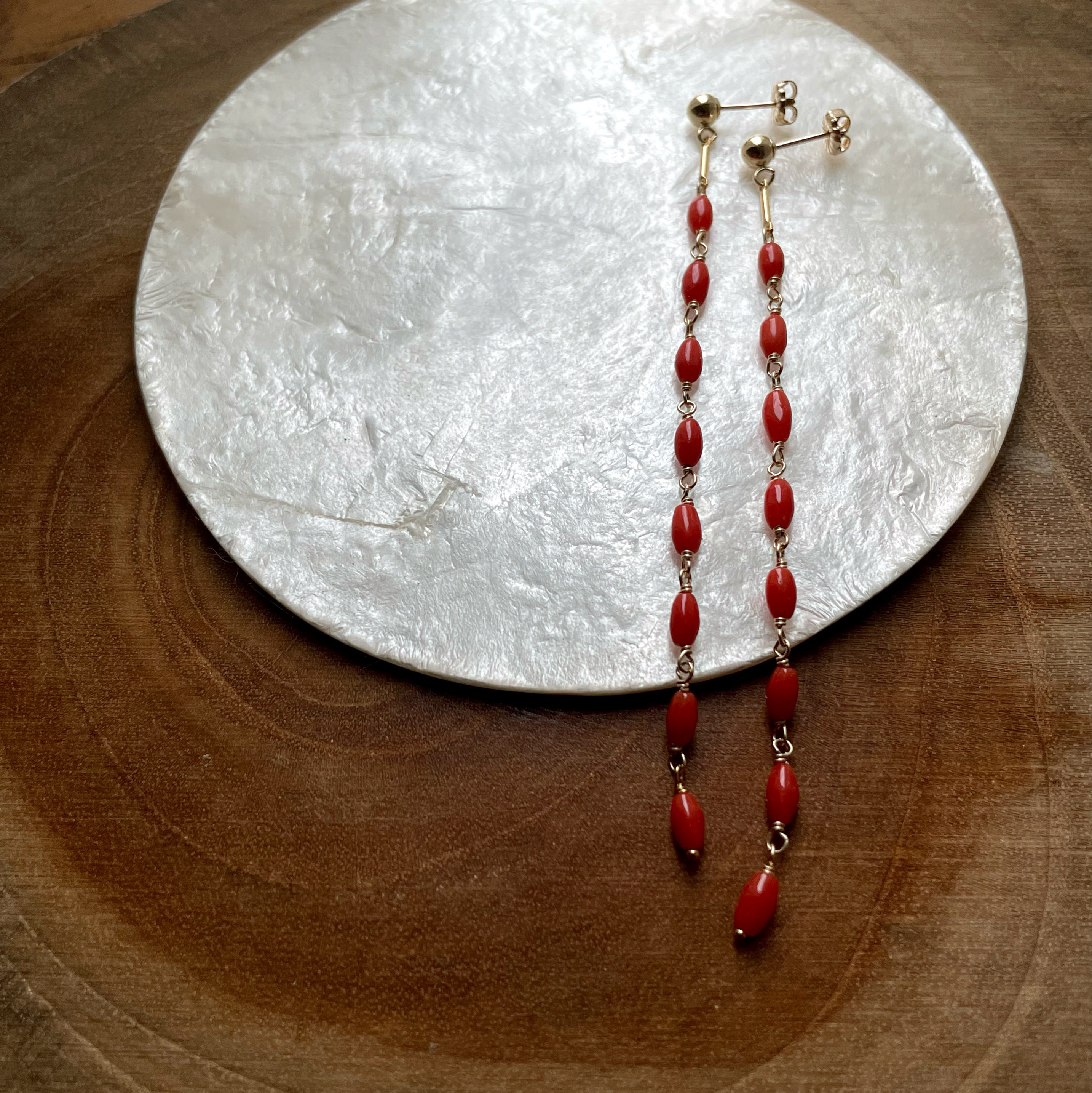 【New】Red Coral/ K14 gf