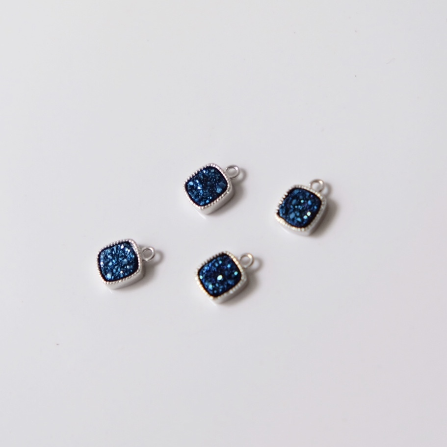〖FieRté〗Druzy(Square)~Blue~≪SV925≫