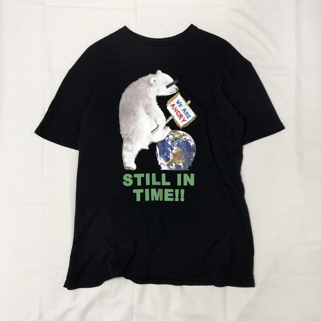 """STILL IN TIME"" ORGANIC COTTON BIG T-SHIRT 【受注生産】"