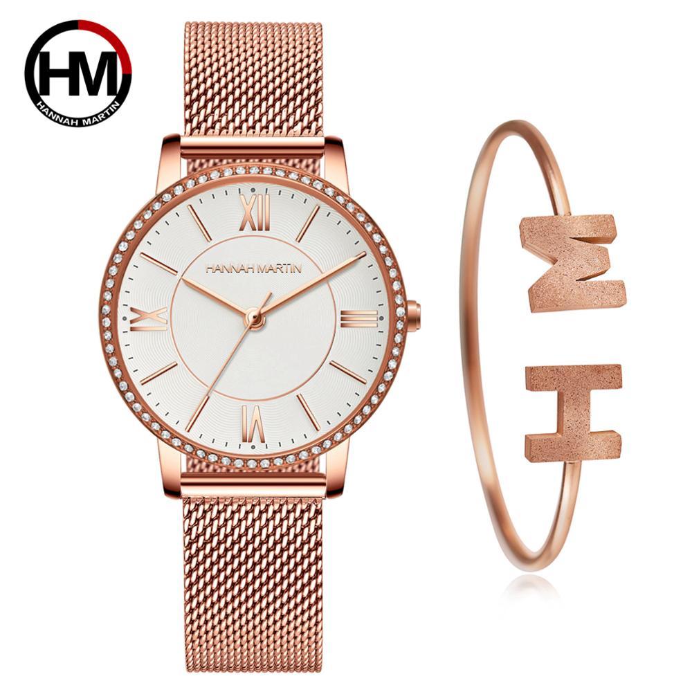 洗練されたエレガントなダイヤモンド高品質の超薄型女性ステンレススチールメッシュ防水女性女性時計ドロップシッピング1072WF1-SZB