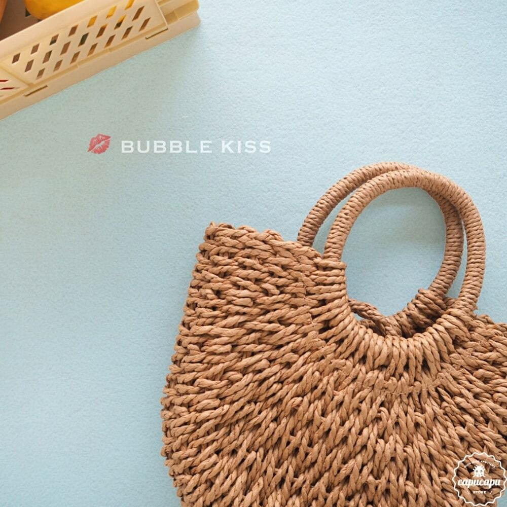 «sold out» bubble kiss rattan bag ラタンバッグ
