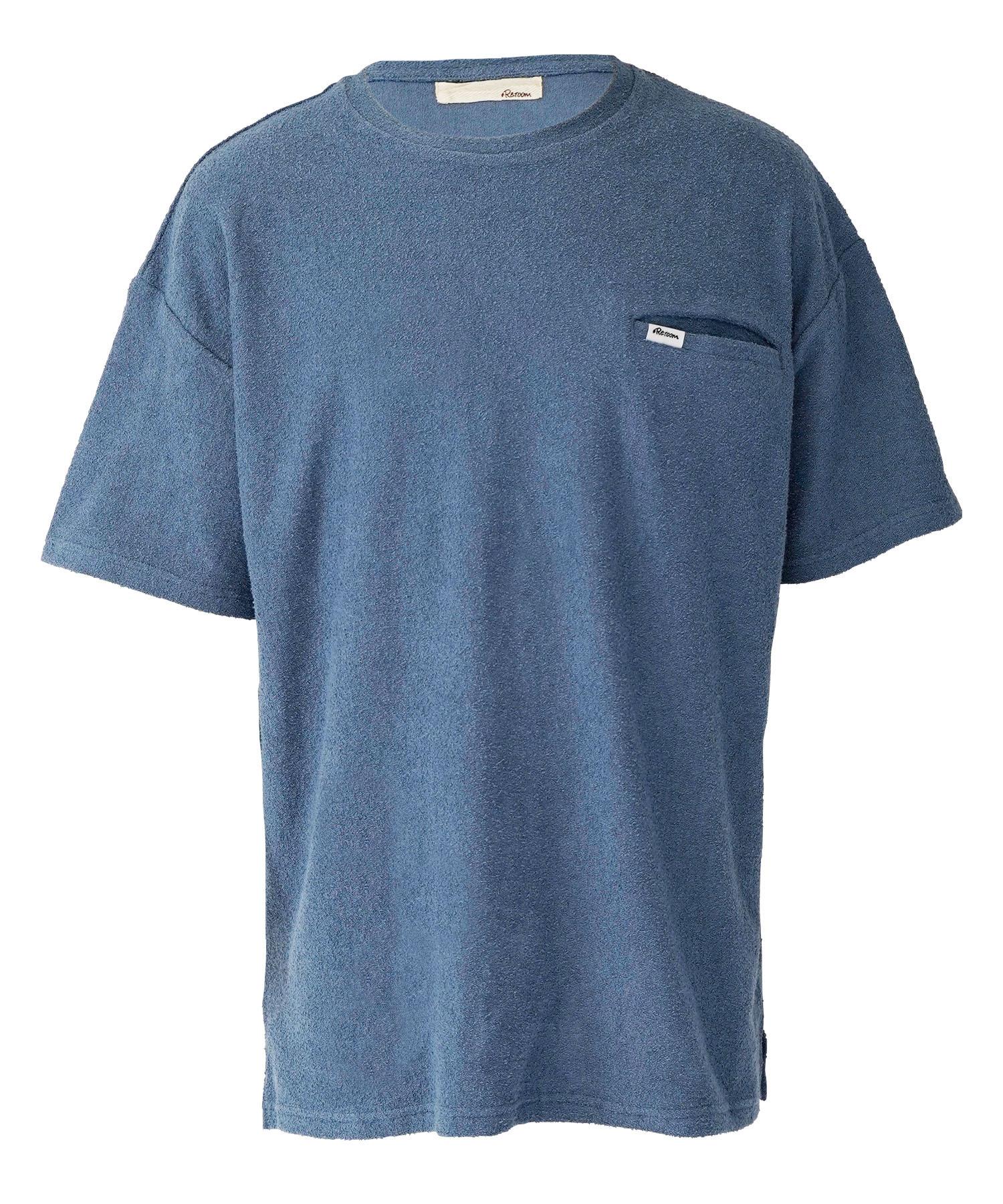 COLOR VINTAGE PILE T-shirt[REC508]