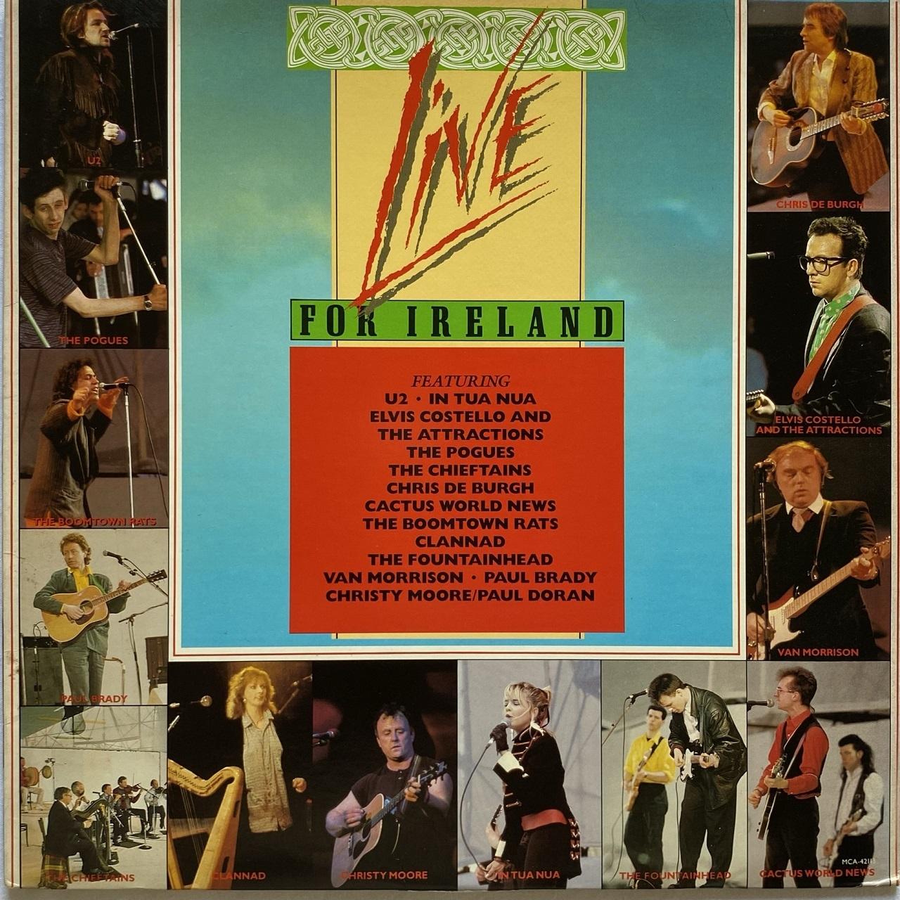 【LP・米盤】Various Artists /  Live For Ireland