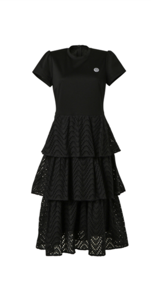 BORDERS at BALCONY  LACE DRESS
