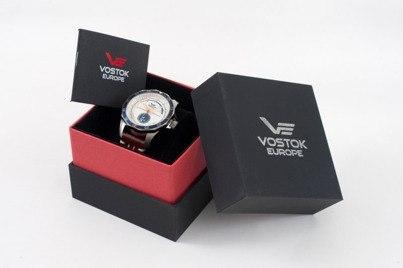 【VOSTOK EUROPE ボストークヨーロッパ】N-1 Rocket Power Reserve/N1ロケット パワーリザーブ/正規輸入品
