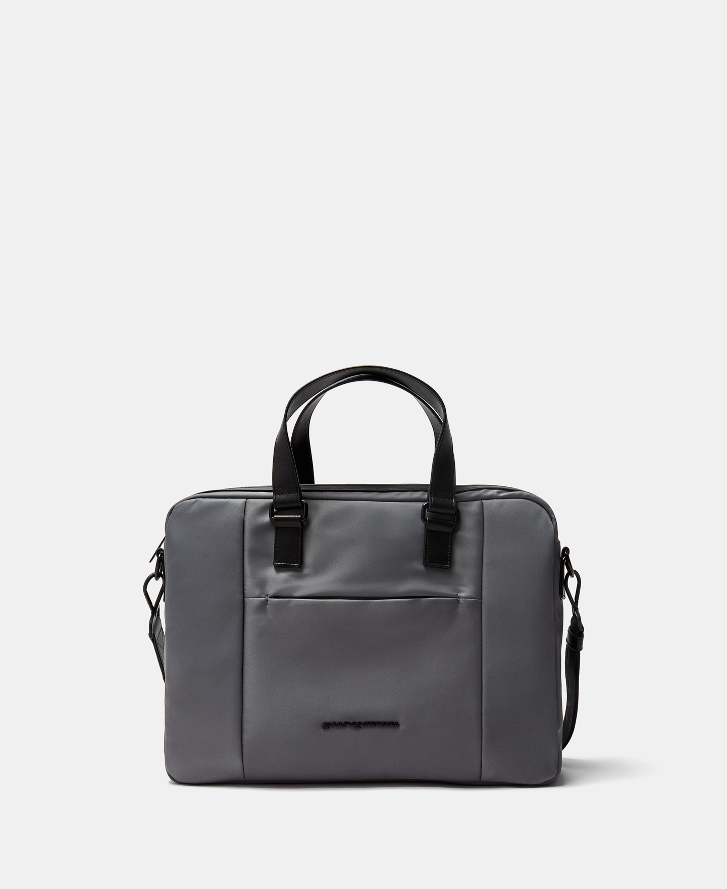 DOUBLE HANDLE NYLON BRIEFCASE [112021637111]