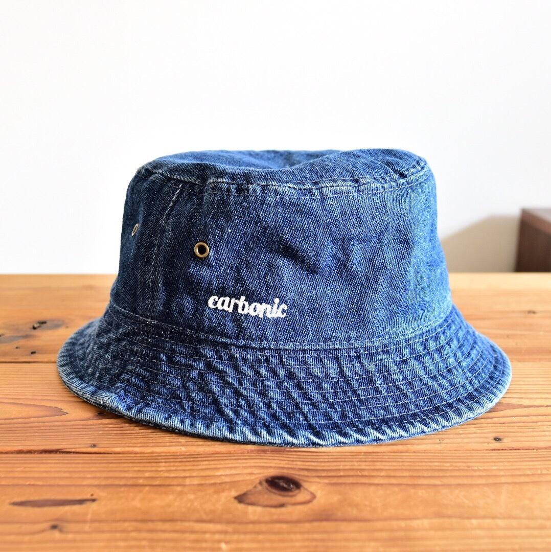 carbonic STD logo Denim Backet Hat