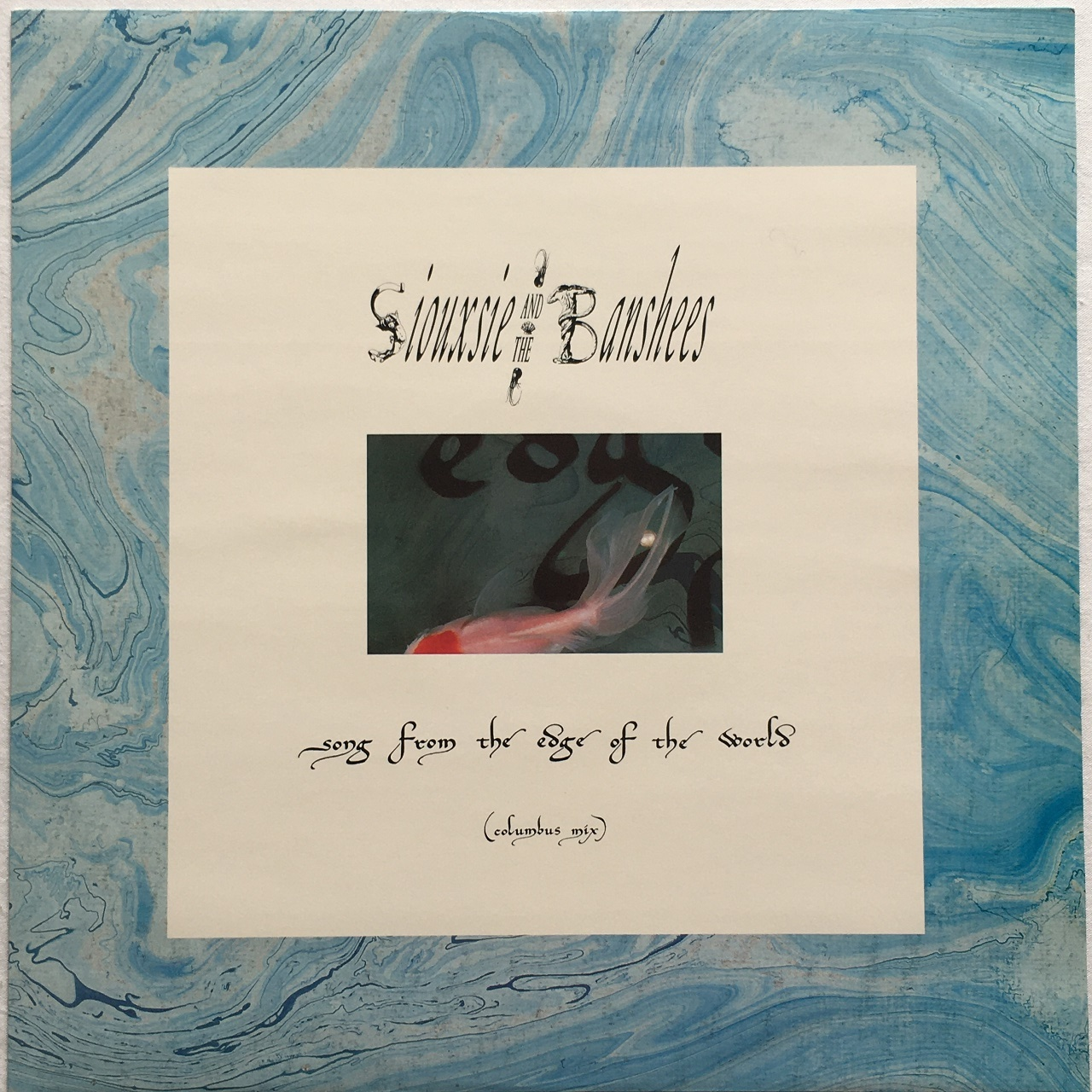 【12inch・英盤】Siouxsie and The Banshees / Song From The Edge Of The World (Columbus Mix)