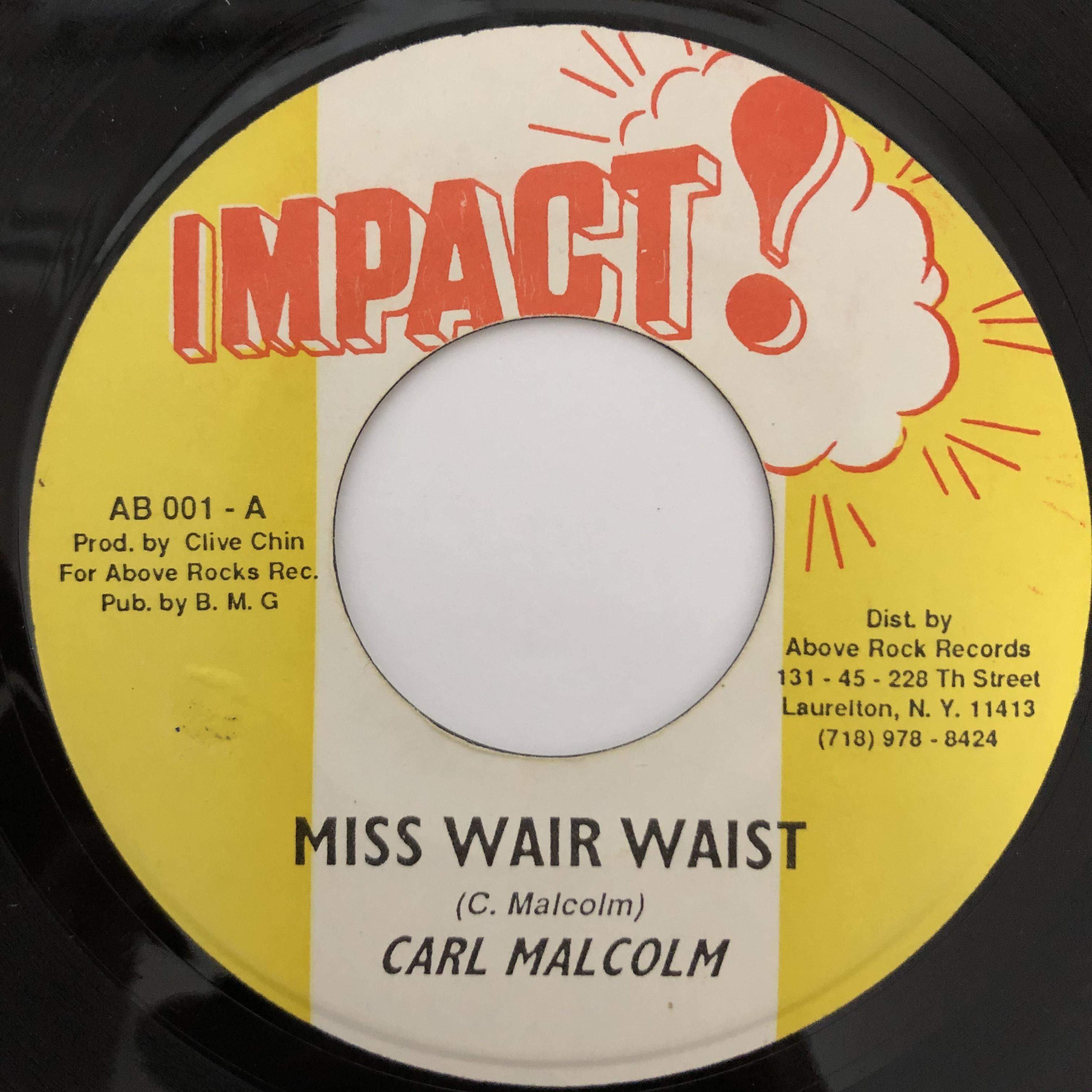 Carl Malcolm - Miss Wire Waist【7-20398】