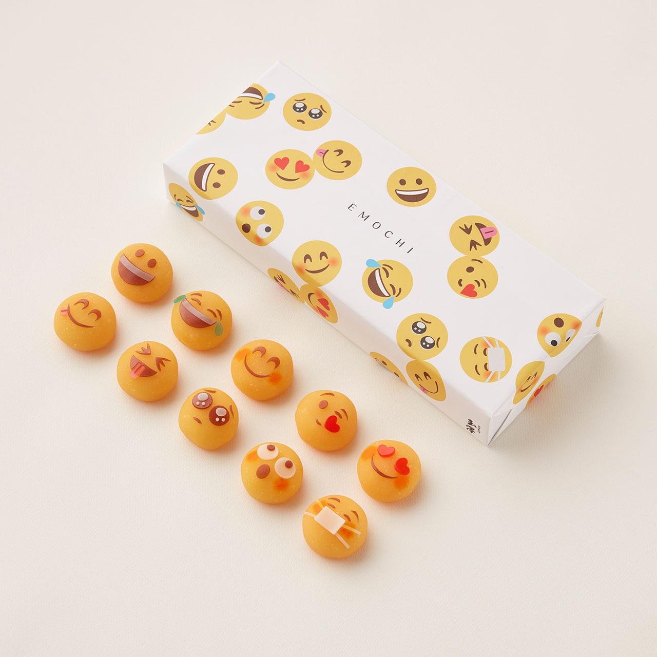 上和生菓子 EMOCHI(えもち) 10個入【全種類セット】