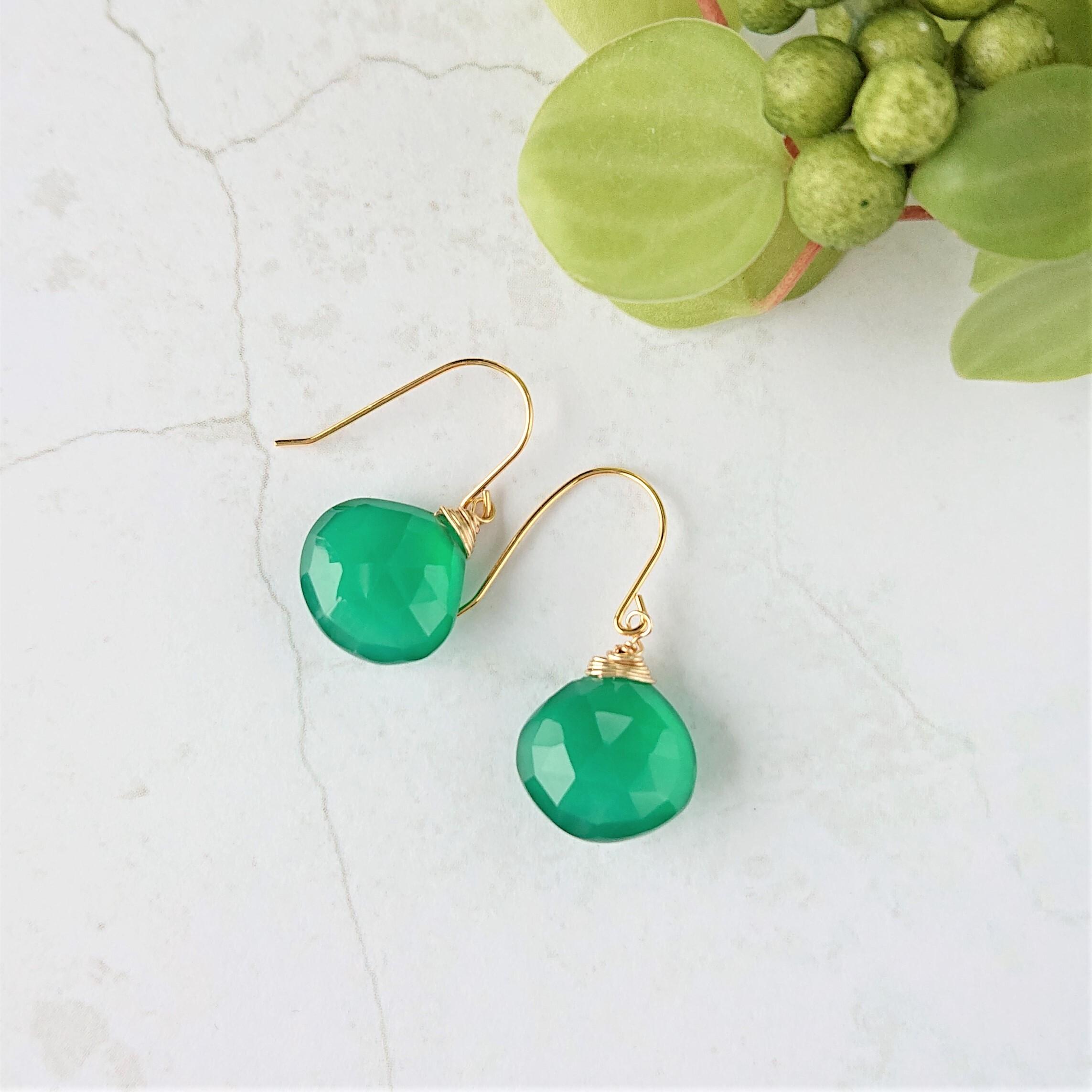 marron pierce / earring 019