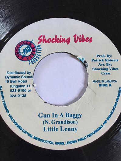 Little Lenny(リトルレニー) - Gun In A Baggy【7'】