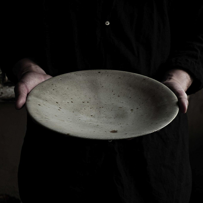 9寸皿 sekiguchi noritaka