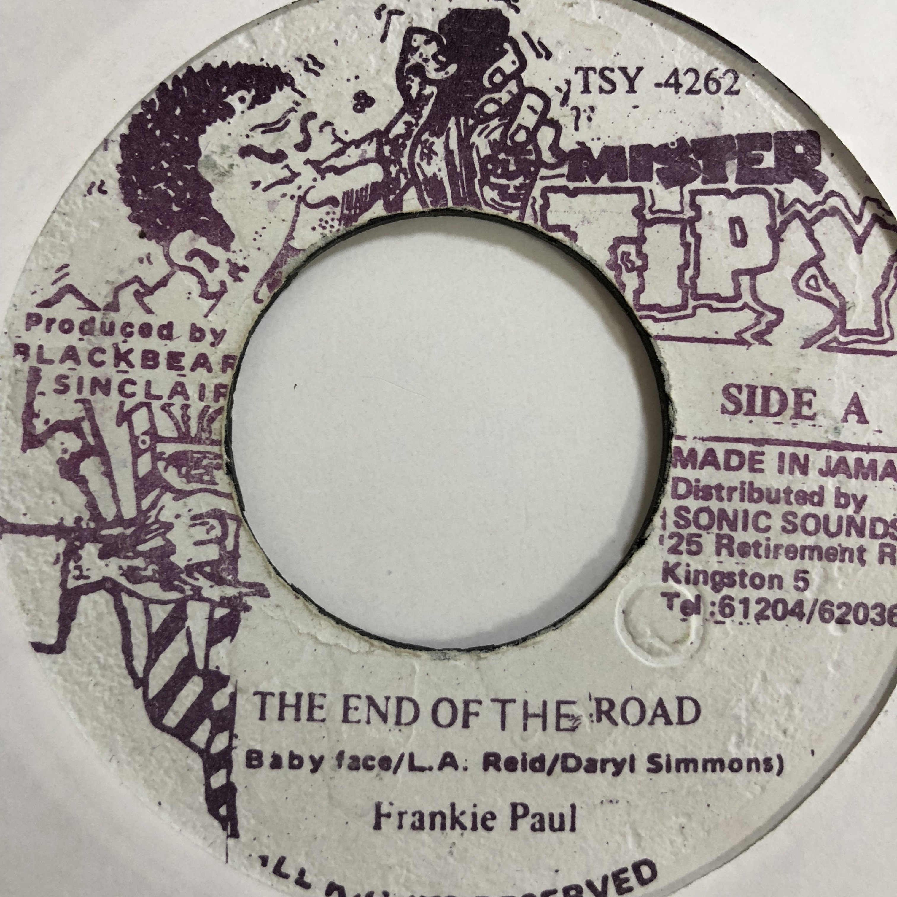 Frankie Paul(フランキーポール) - End Of The Road【7'】