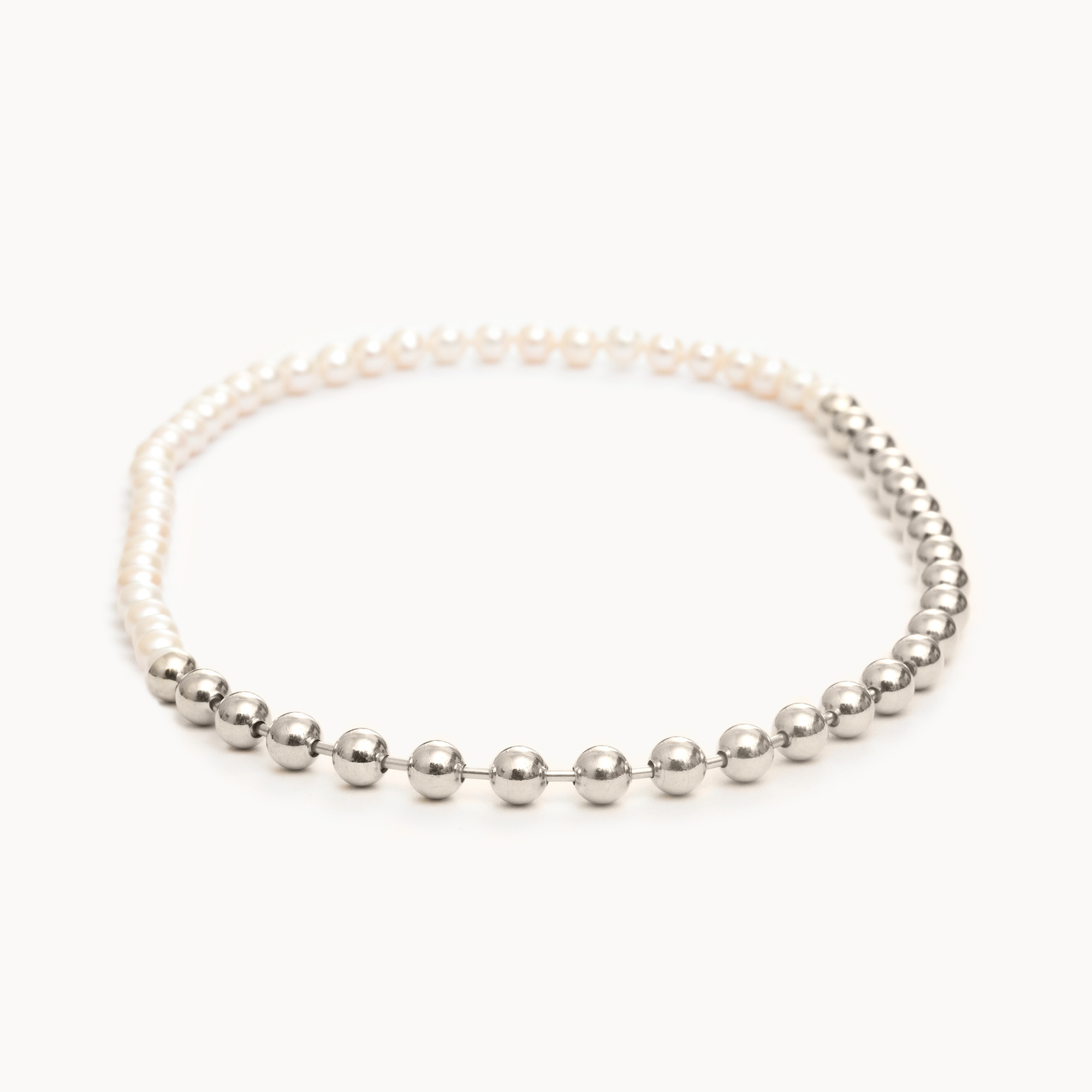 Ball Chain / Pearl Necklace|ネックレス - art.1803N091040