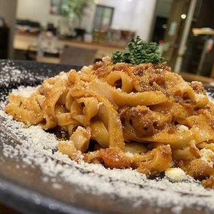【生パスタ付】こだわり食材!埼玉県産香り豚100%で作るミートソース【3食分】