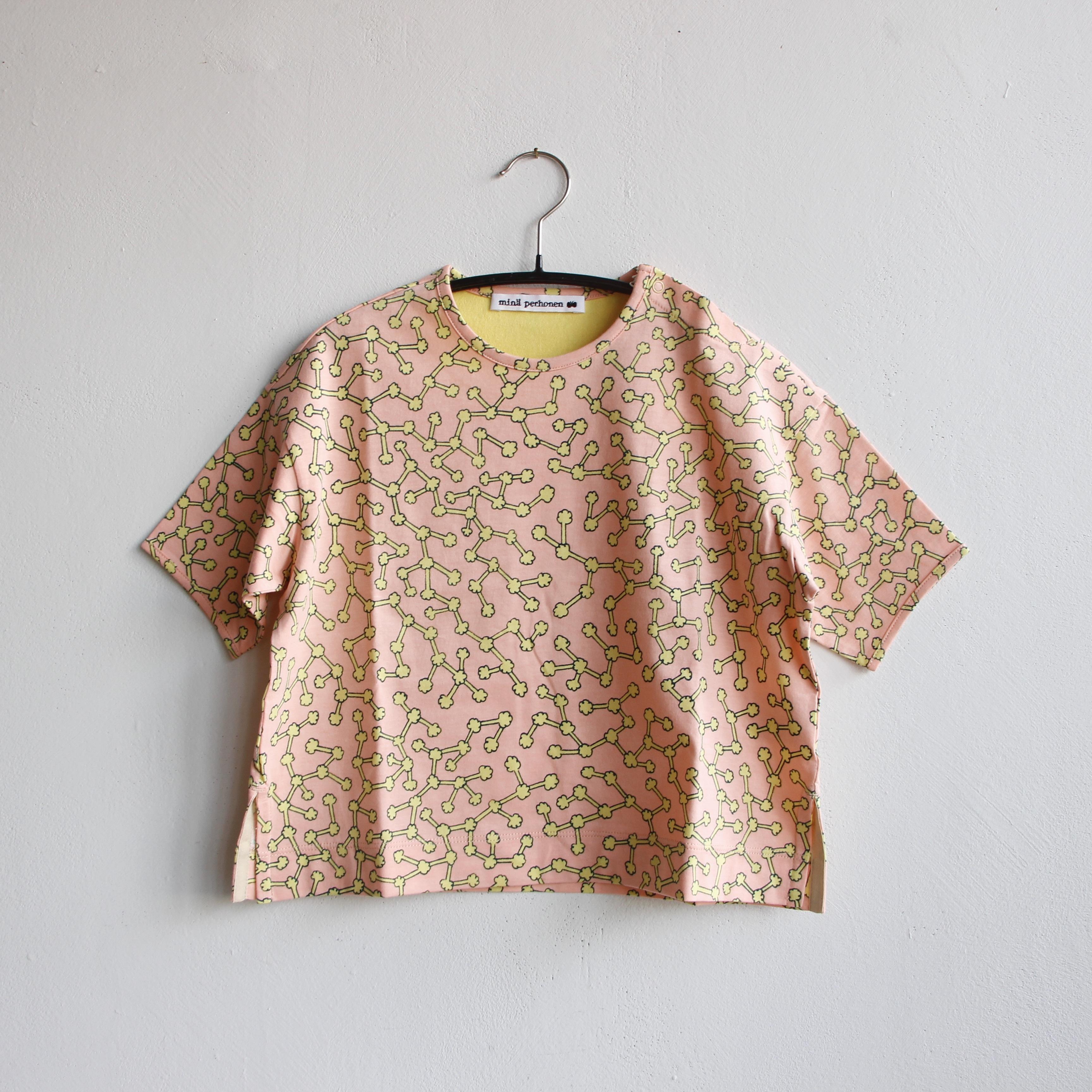 《mina perhonen 2021SS》ensoku 半袖カットソー / pink / 110-140cm