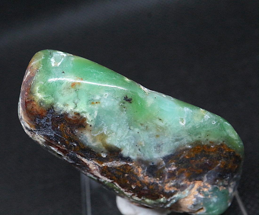 クリソプレーズ 緑玉髄 オーストラリア産  72,2g CSP005  原石 天然石 鉱物 パワーストーン