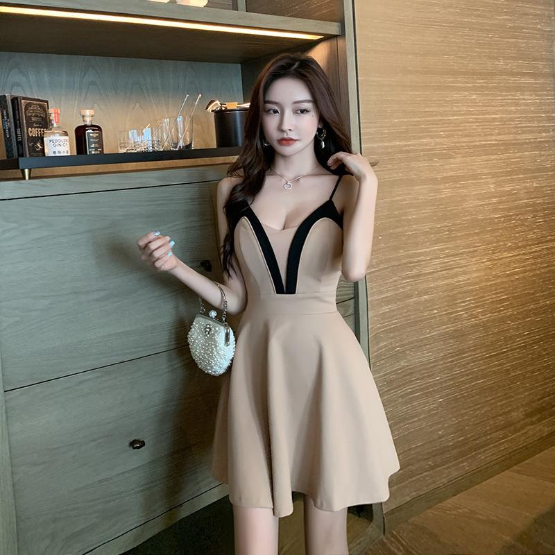 3色 吊りスカート タイトスカート セクシー 姉 キャバドレス MY2085