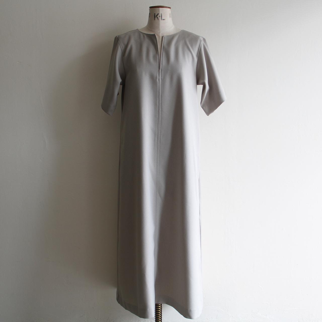 CONN【 womens 】melange twill key neck dress