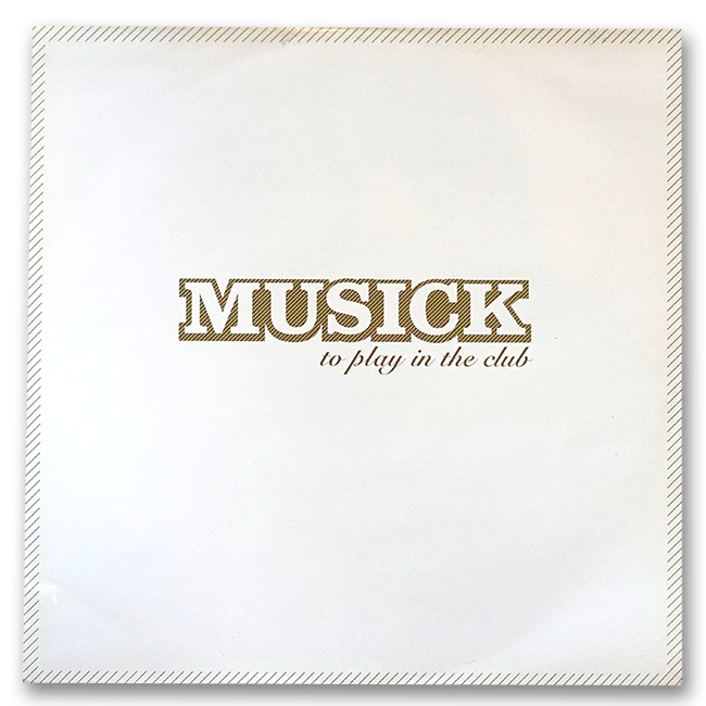 Peter Grummich / Holz / gwEm – Musick - To Play In The Club (EP) - 画像2