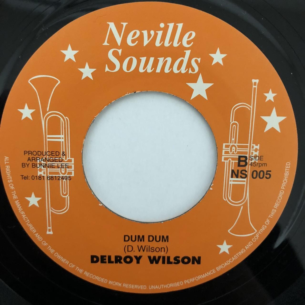 Delroy Wilson - Dum Dum【7-20477】