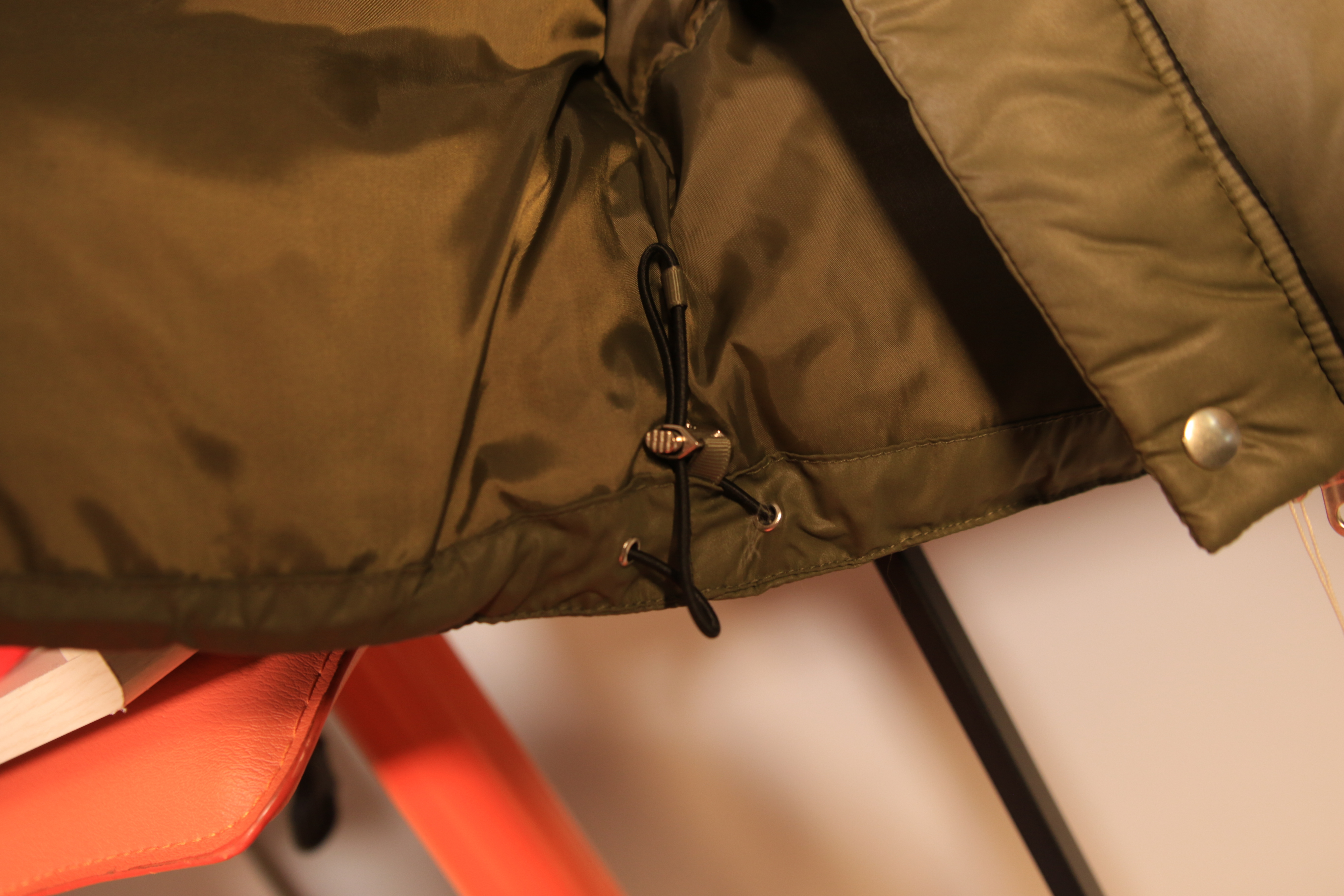 SMOKE ISLAND DOWN JACKET [KHAKI]