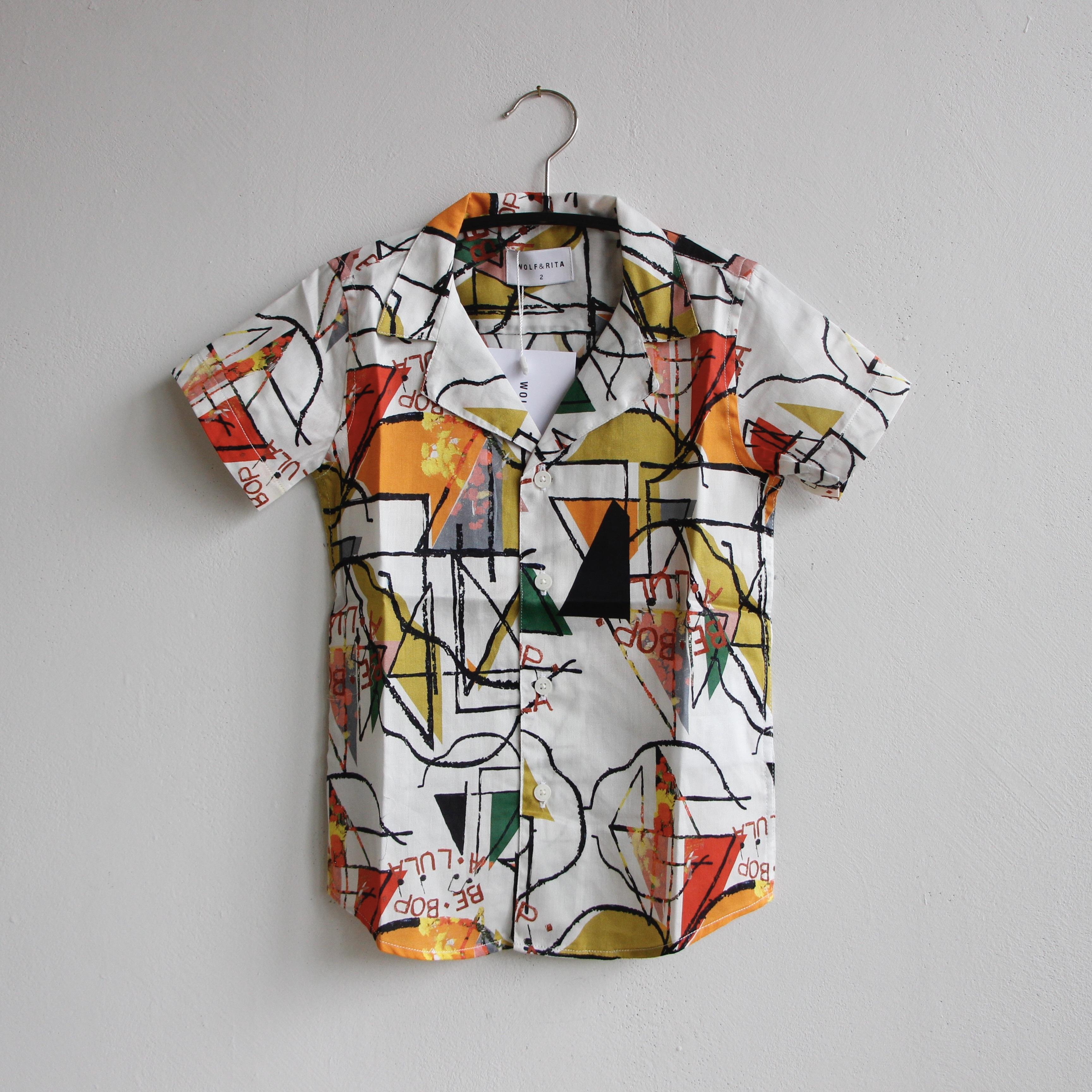 《WOLF & RITA 2021SS》BRUNO shirt /  BE BOP