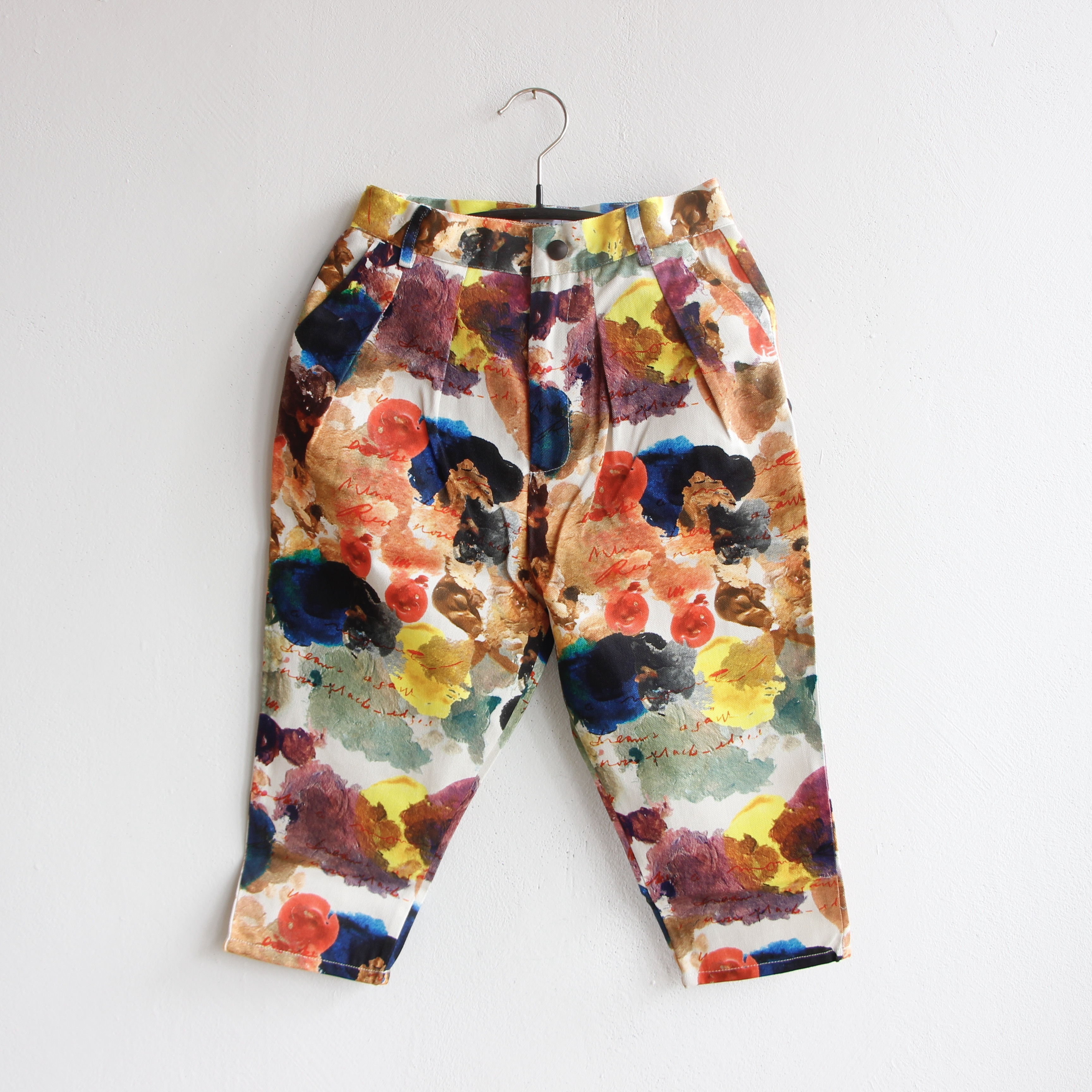 《WOLF & RITA 2021AW》ANDRE trousers / BLUE AVALANCHE