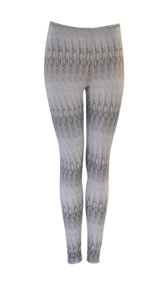 Jules Feather White Legging