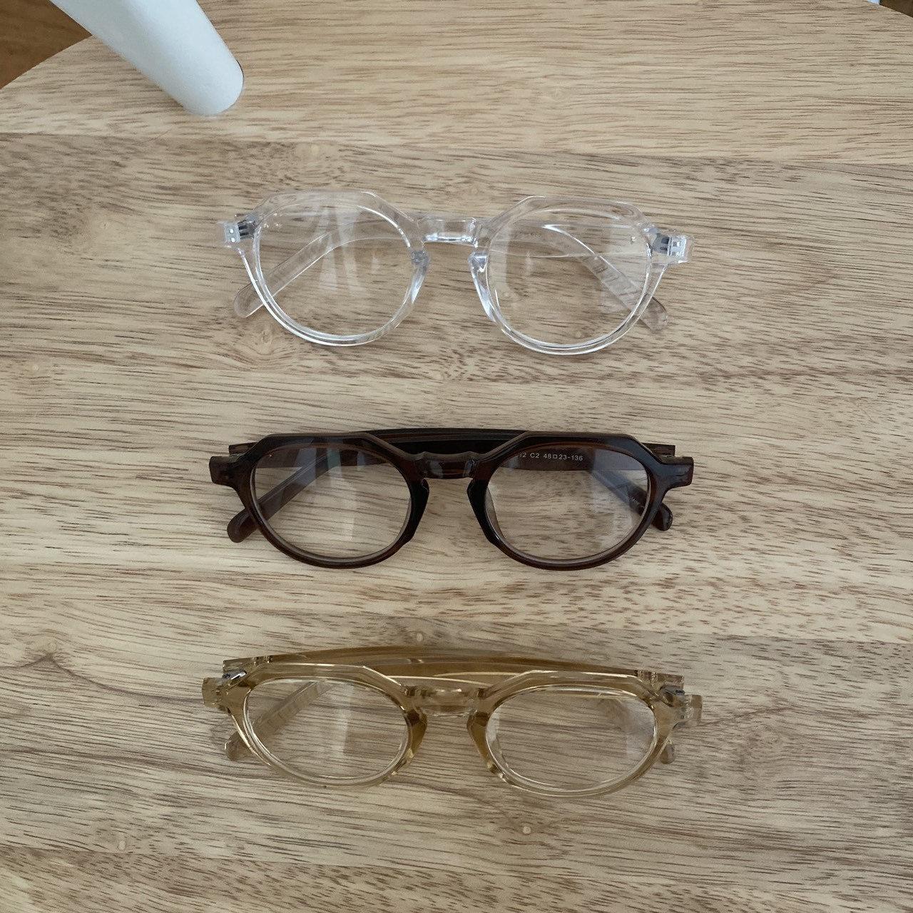 DAYNYC rectangle glasses