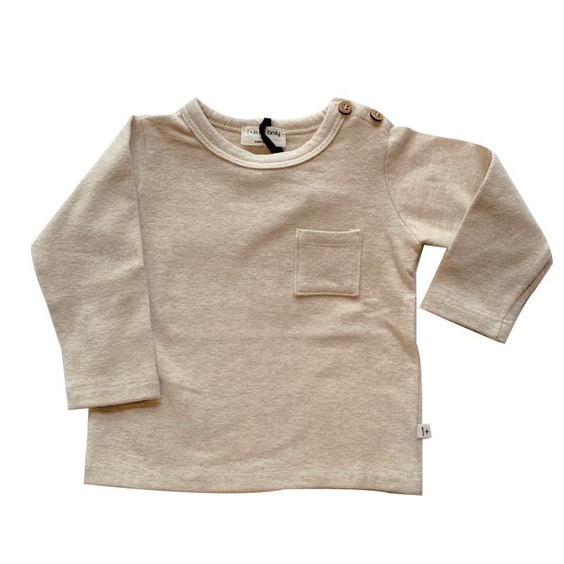 1+in the family ORIOL 長袖Tシャツ