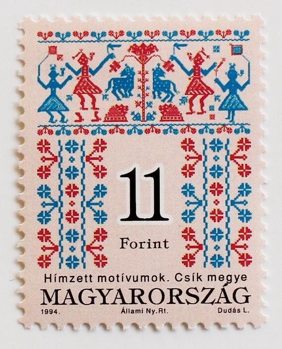 刺繍 11F / ハンガリー 1994