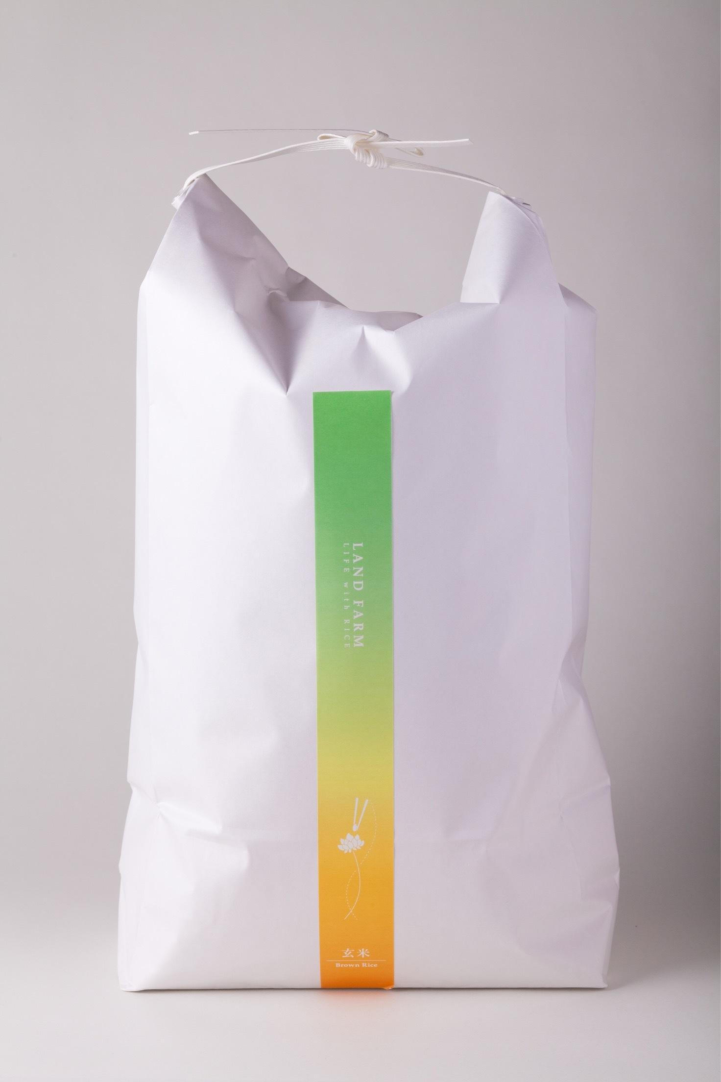 レンゲ農法で育てたお米 ひのひかり玄米5kg