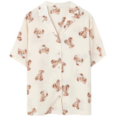 ベア―レトロシャツ