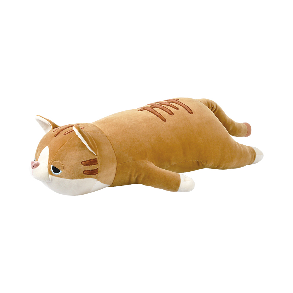 猫抱き枕(プレミアムねむねむアニマルズL)茶トラネコムギ