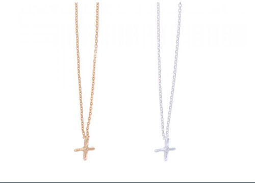 Sea'ds mara/シーズマーラ Petit cross motif necklace 21A1-13