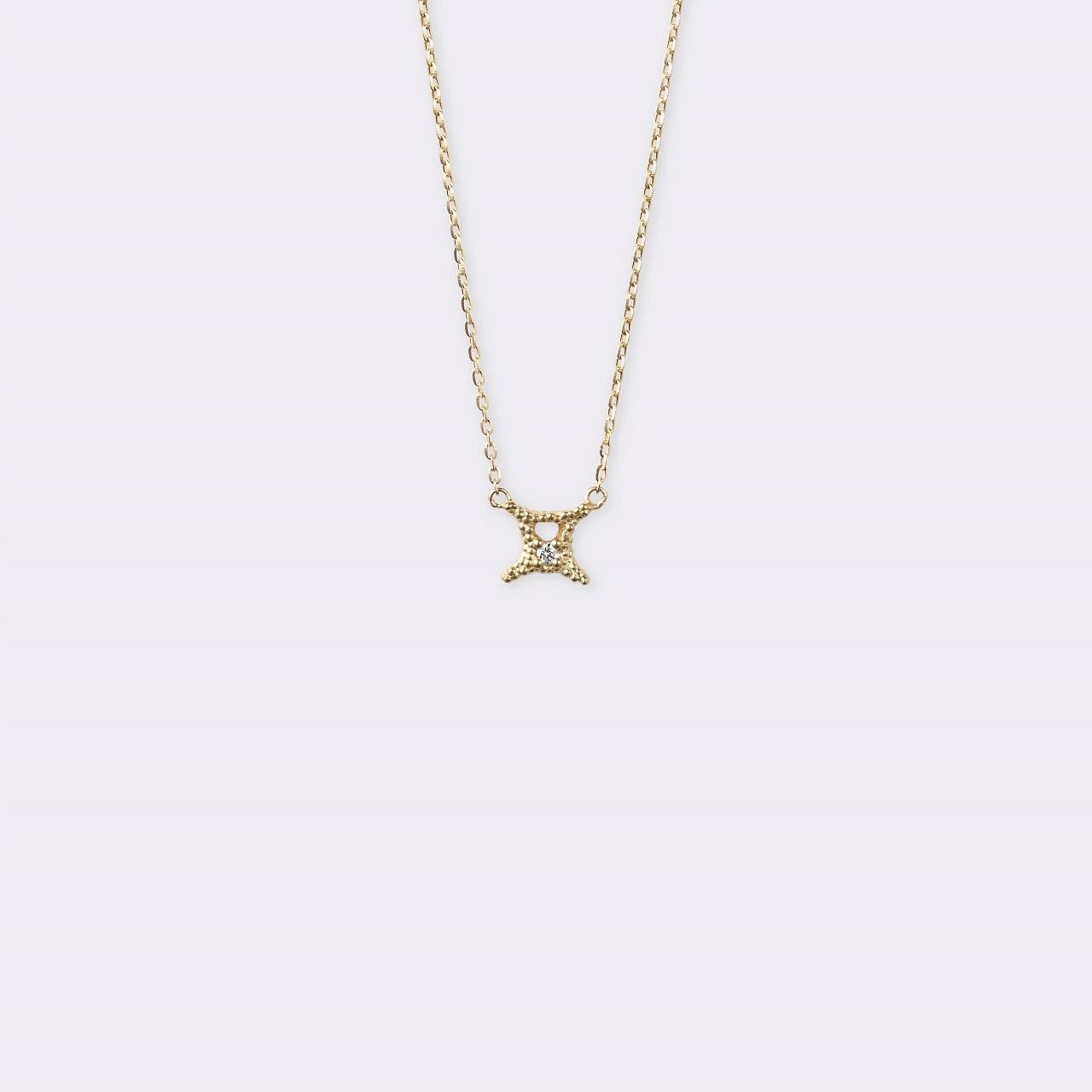 Horoscope Necklace 双子座 K18YG(ホロスコープネックレス ふたご座 K18イエローゴールド)
