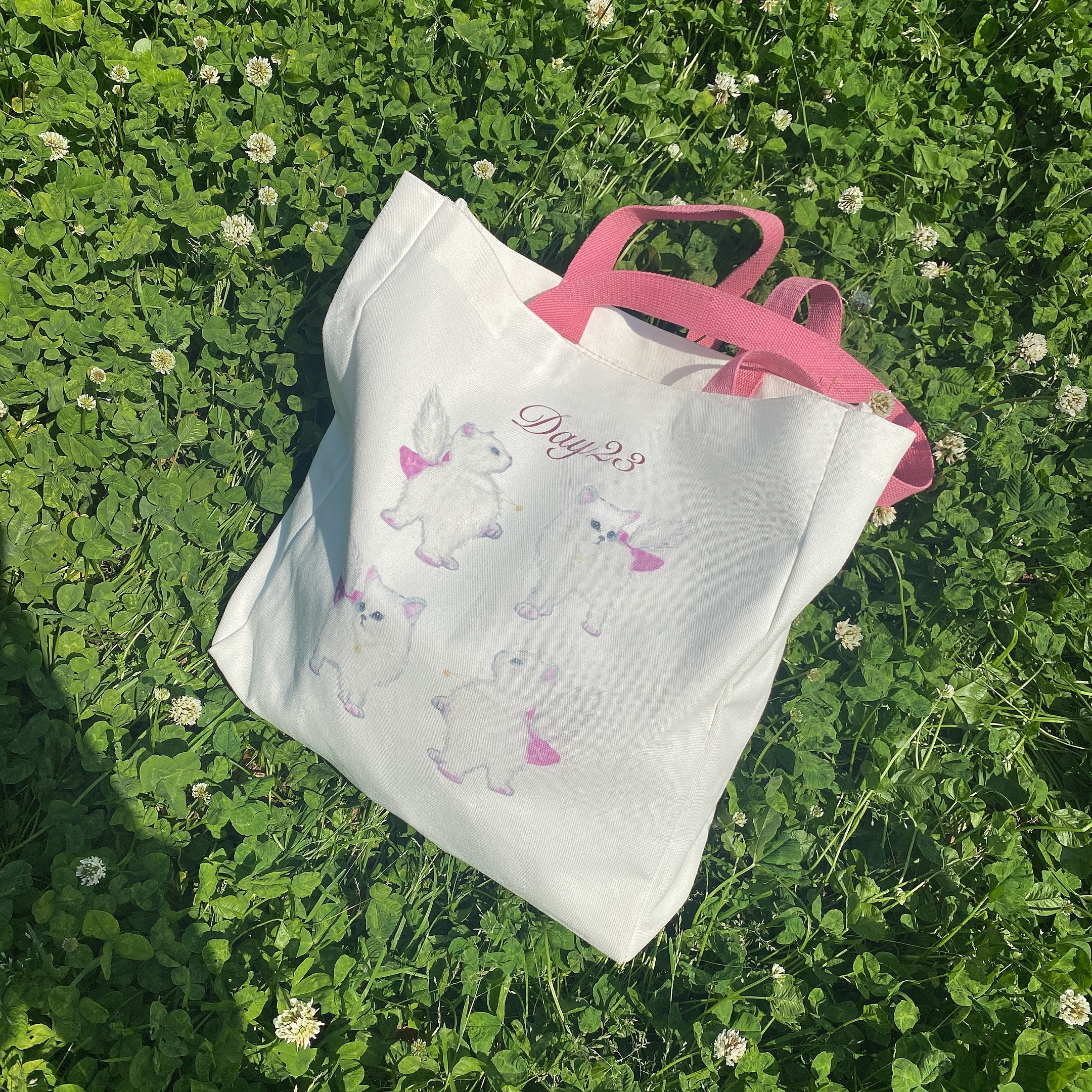 original ''Daycat'' tote bag