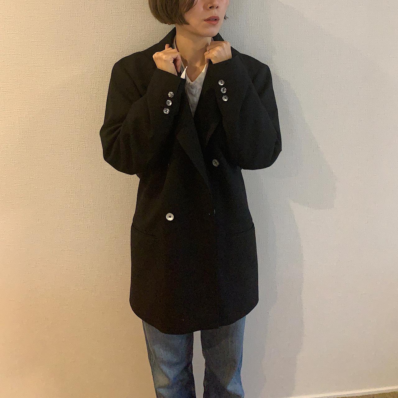 【送料無料】 Vintage black jacket