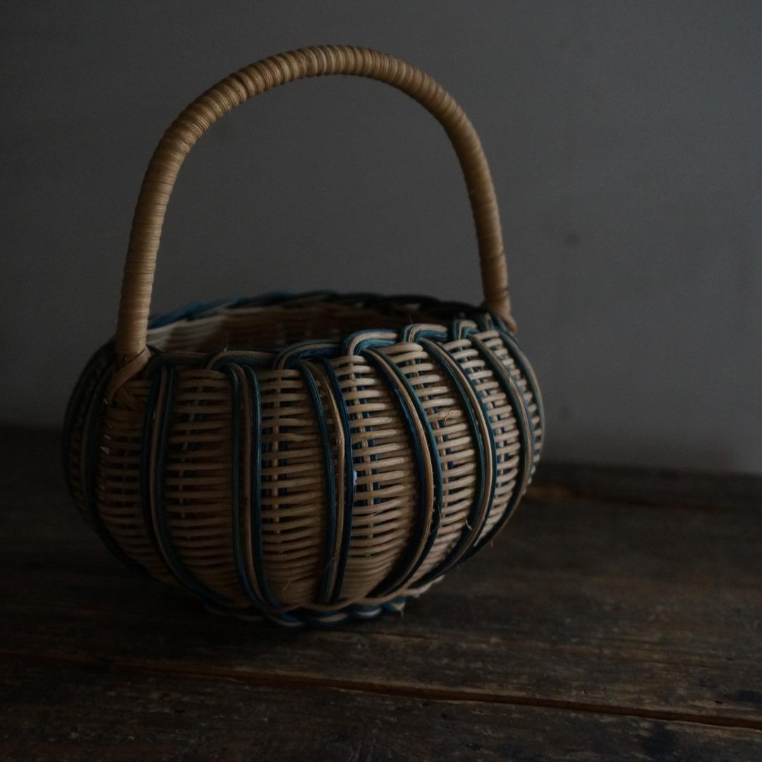 古いベルギーの籠