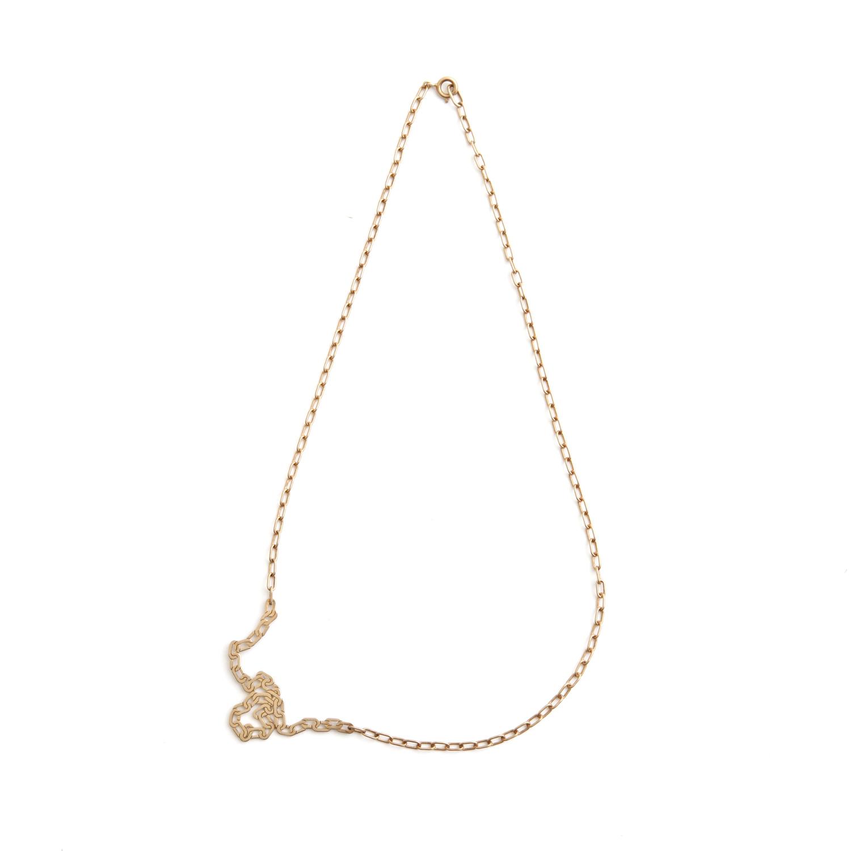 talkative/FAKE necklace Gold