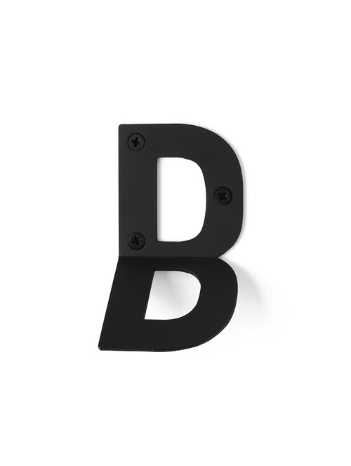 LETTER HOOK B フック 壁掛け サイン 英文字 アルファベット