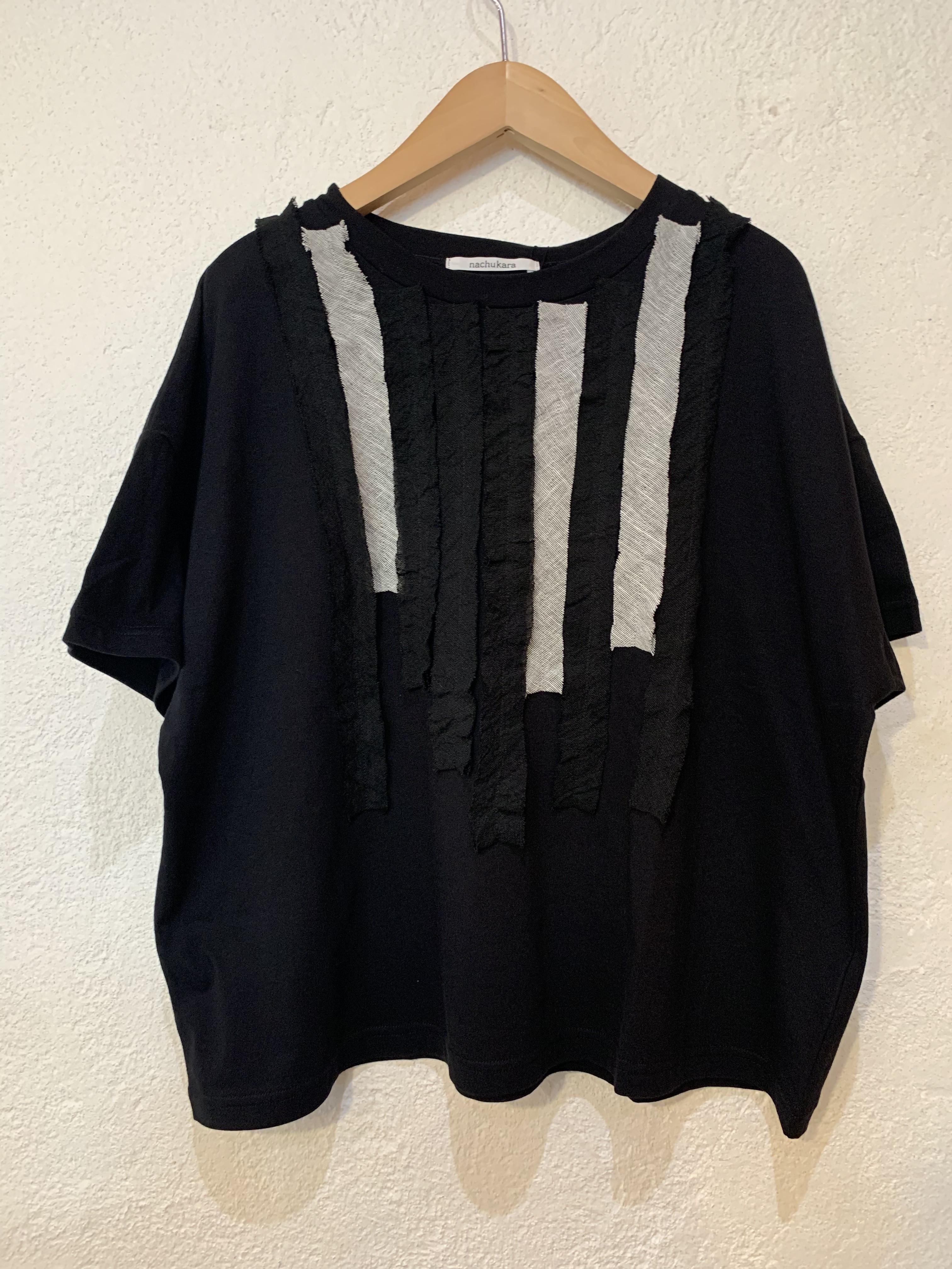 nachukara/フリル半袖Tシャツ