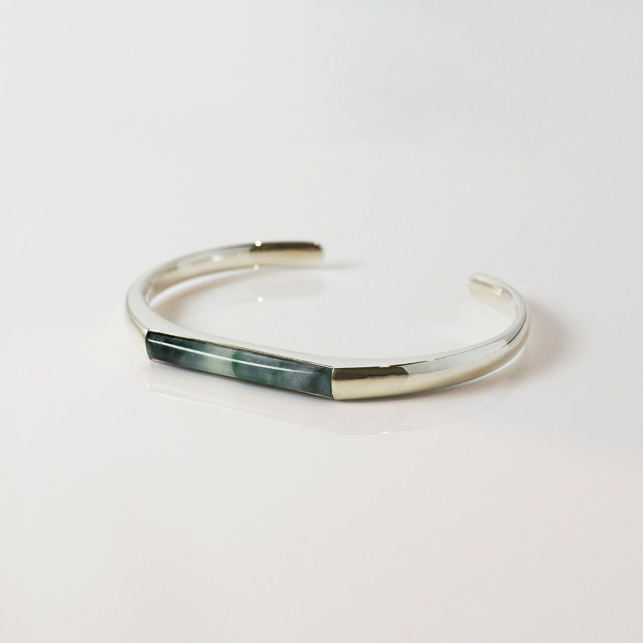 HISUI 'SHIKAKU'  / Bracelet (Dark Green)