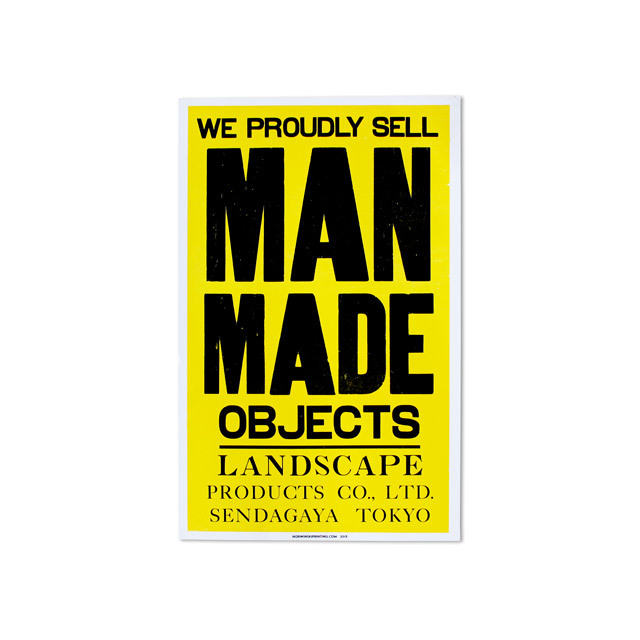 "Poster ""MANMADE OBJECTS"""