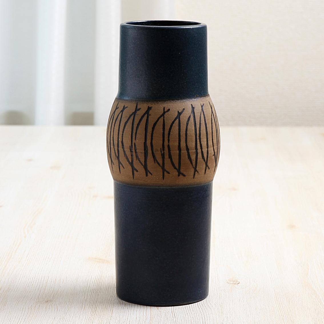 Lisa Larson リサラーソン Granada グラナダ 花瓶 グスタフスベリ Gustavsberg 北欧ヴィンテージ