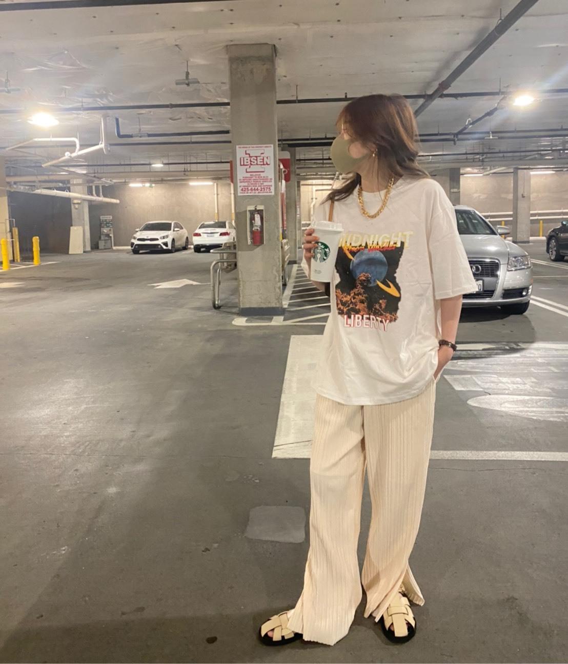 【NEW】DAYNYC domino pants(ivory)