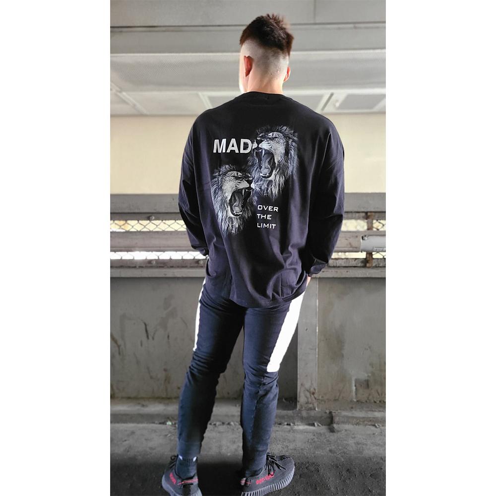 XAIREX MAD L/S (BLACK)[XAI-0030]