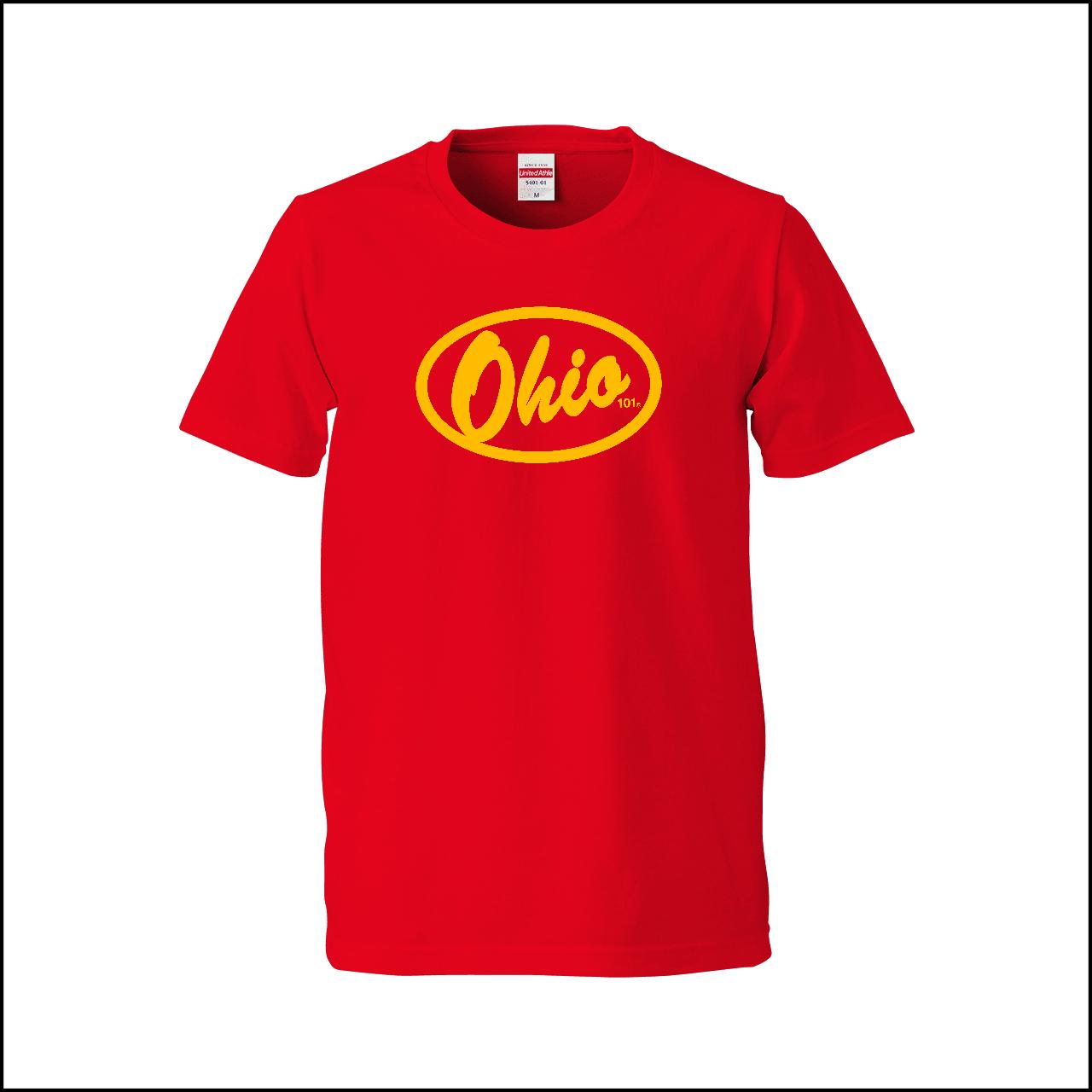 OHIO101 LOGO red × yellow